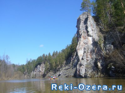 Весенний сплав по реке Тура