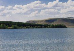 Слакское водохранилище (р. Курсак)