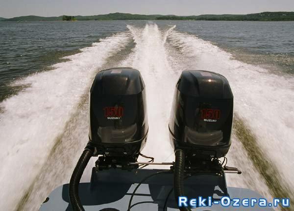 два плм на одной лодке