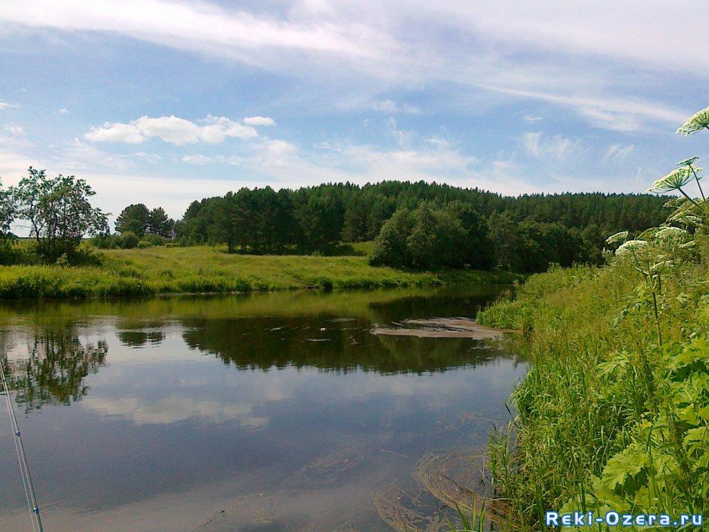 Река Реж, особенно после города Реж, пользуется популярностью, пусть не такой большой, как Чусовая, у...