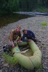 Сплав и рыбалка на Вижае