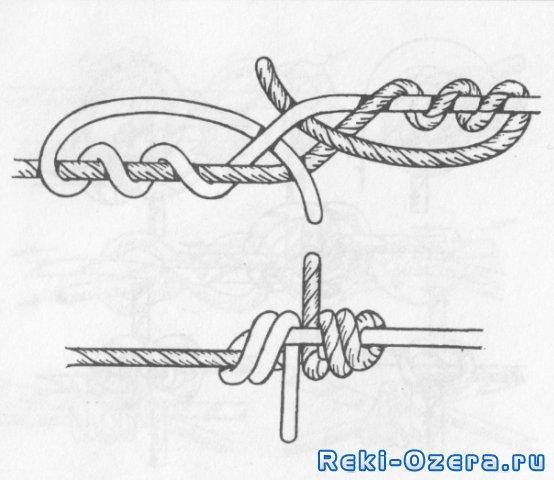 Как сделать змеиный узел