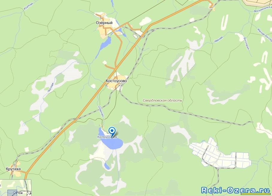 пруды орловской области для рыбалки бесплатно карта