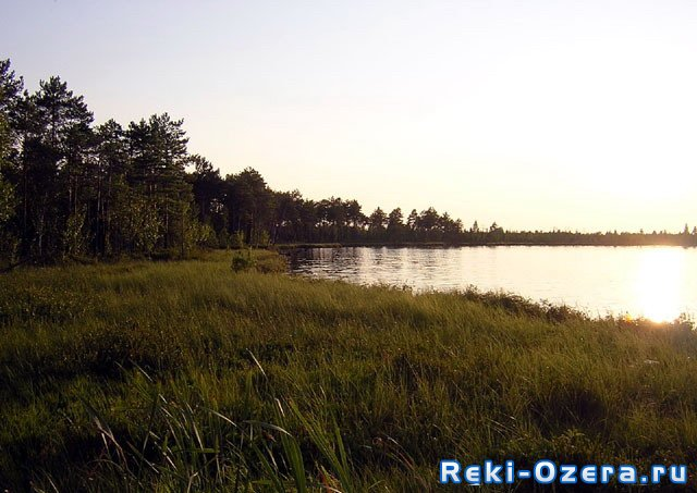 Озеро Щучье.