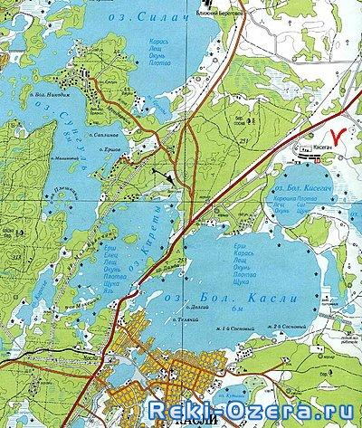 скачать карту озер чел¤бинской области - фото 4