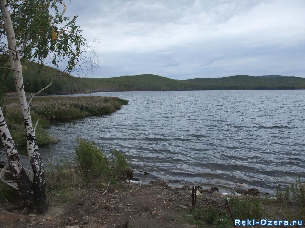 озеро хохлан рыбалка