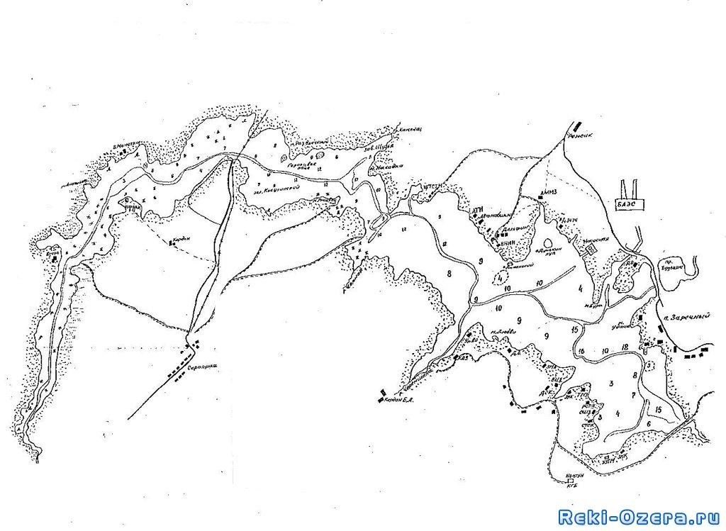 комфортабельный квартал карта плотины сосновая роща того
