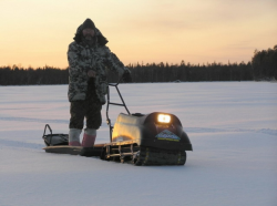 Мототехника в помощь зимнему рыболову