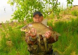 Первая рыбалка по открытой воде