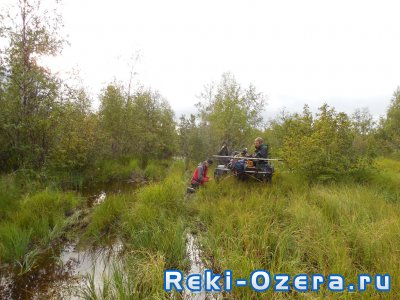 Рыбалка на приполярном Урале