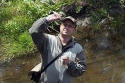 Пара рыбалок с элементами сплава по реке Уфа