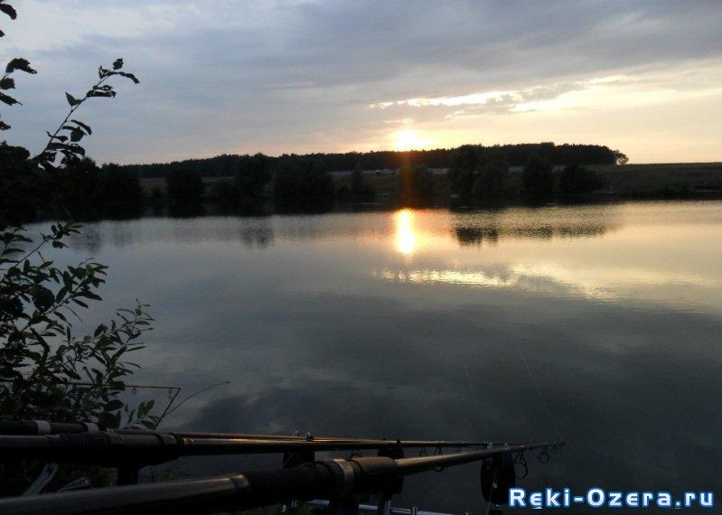 линевое озеро мечта рыбака