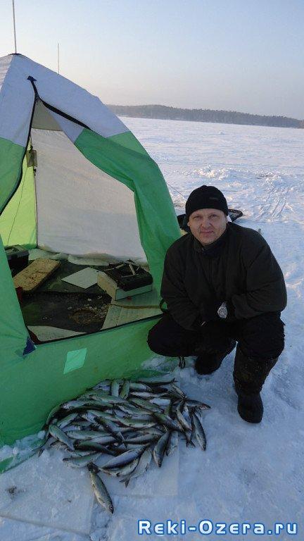 Рыбалка на озере Аятское под Екатеринбургом