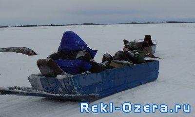 Зимняя рыбалка в ХМАО