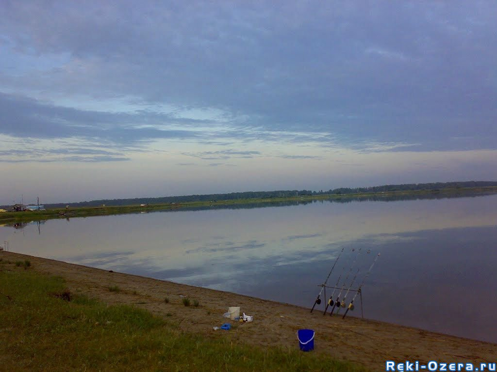 озеро чистое рыбалка 2016